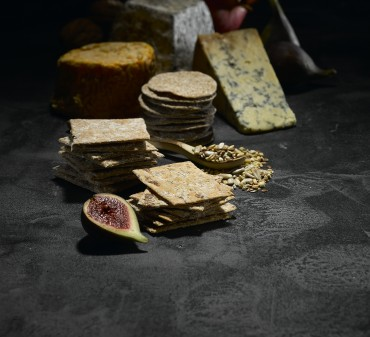 Peter's Yard Crispbreads and cheese
