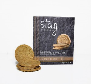 Stag Bakeries Smoked Butter Oatcakes