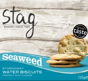 Seaweed Water Biscuits