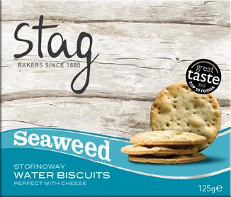 Seaweed Water Biscuits